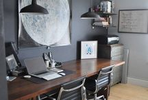 Color Inspiration: Black & Gray / Black and Gray in the design world, from home to art and clothing.