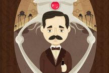 Jottopia Pro - H.G. Wells / Created to honor H.G. Wells on his birthday. We celebrate his amazing body of work.