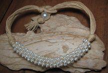 bijoux lin