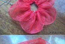 selyemvirág ruhadísz