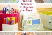 Let's Get Organised! / Cleaning & Organisation