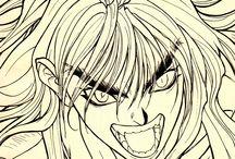 Manga / Some of the masters of the art of manga...