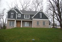 Iron Grey Hardie Shingle and Lap Siding   Olivette, MO (63132) / This is a project that Siding Express completed in a suburb of Saint Louis, Olivette, MO.