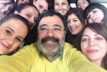 Okulumuzdan Ahmet Ümit geçti / Ünlü şair ve yazar Ahmet Ümit, 19 Mart 2014 Çarşamba günü Anabilim öğrencileriyle bir araya geldi.