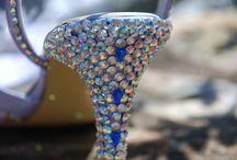 Swarovski Crystal Shoes / Swarovski Crystal Heels by Fairytale Shoes / by Fairytale Shoes