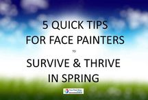 Facepainting Tips