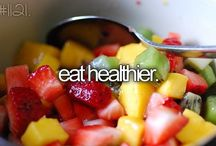 Healthy lifestyle / Food n exercise