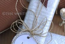 Perfectly Wrapped / Creative ideas for wrapping gifts and making the wrapping part of the gift. I love to take the time to make the wrap match the gift inside.