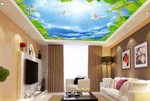 Décor plafond - Plafond tendu imprimé personnalisé