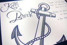 Anchor Theme Wedding