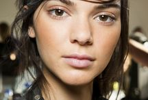 Vogue runway/catwalk makeup spring 16