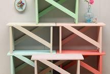 Storage/Seating Ideas / by SV Hernández
