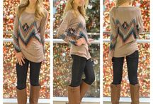 Fall clothes  / by Sallie Meador