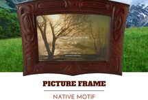 Picture Frames / Canadian made picture frames with native designs.