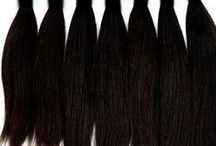 Indian Remy Hair Single Drawn Bulk / Shop online Indian Remy Hair weft straight with the size of various inches.