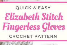 Crochet Fingerless Gloves, Wristers, Mittens, and Gloves / You will find free crochet patterns for fingerless gloves, gloves, wristers and mittens.