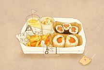 ART: Japanese food