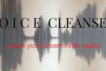 VOICE CLEANSE / Have you ever felt unheard?  Have you ever felt how difficult is to to SPEAK YOUR TRUTH in some circumstances or environments, with some people? VOICE CLEANSE on  | https://voicealchemiststudio.leadpages.net/voice-cleanse/  Detox your language and your voice and learn how to #speakyourdreams and #findyourvoice.