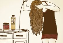 Como escova o cabelo