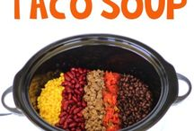 Easy Crockpot/Slower Cooker/Instapot Recipes/Freezer Meals / Easy, fast and they look delicious.