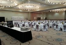 Decorated Banquet Hall (Regal I and II) / We hosts many functions from weddings and dinners to conferences and seminars.  Here's a look at how some of our clients have decorated for their event, and how our staff have staged the ballroom for them.