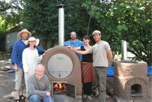 Rocket stove oven