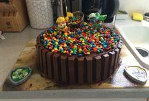 Gâteau pour anniversaire