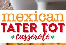 Mexican tater to casserole