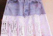 faldas con crochet