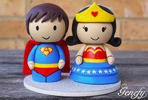 Casamento super heróis / Ideias e inspirações para noivos aficcionados por super heróis.