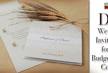 DIY Wedding Invitations for the Budget-Savvy Couple / On to today's blog post are some fantastic tips on how you can create unique DIY wedding invites whilst keeping the cost down.  http://www.kimberleyandkev.com/diy-wedding-invitations-budget-savvy-couple/