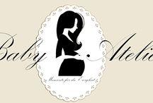 Baby Atelier / Babybauch-Gipsabdrücke 3D Baby Hand und Fußabdrücke