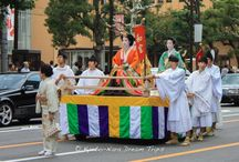 Jidai Matsuri: Festival of Ages in Kyoto City! / Jidai Matsuri in Kyoto! Jidai Matsuri is one of Kyoto's Big Three festivals, the other two being Aoi Matsuri and Gion Matsuri. Jidai Matsuri is always held on October the 22nd (though the actual festivities begin on October the 15th), which is what many see as Kyoto's birthday, as that is the day that Emperor Kanmu, in the year 794, moved the capital from Nagaoka Palace to Heian Palace which was located in Kyoto.