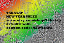 CHECK OUT THE TABATAP NEW YEAR SALE!!! www.etsy.com/shop/Tabatap