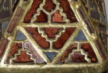 Anglo-Saxon design and decoration #inspirations / Complex and sophisticated patterns and imagery England 550BC-1050AD