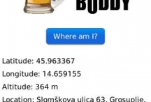 Beer Buddy for BBM BlackBerry smartphones / Beer Buddy for BBM for BlackBerry smartphones by Pronic Apps Send your drinking buddies an express invitation with the pub's address, meeting time, GPS coordinates and link to BlackBerry Maps. Choose among 21 invitations ranging from general invites to more specific ones (birthday, celebration, etc.) or personalize the invite yourself. / by PronicApps