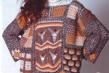 Лоскутное вязание
