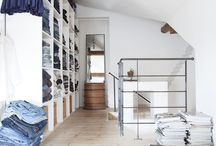 closet / dressing room / by Kim Johnson