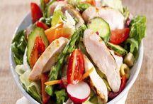 CHICKEN**Salads / by Charlene Murray