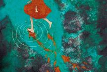 koi & mermaid & water  / by Stephanie Galichia