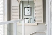Style hallways / Beautiful things with fabulous style