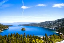Lake Tahoe Activities / Northern California has world renown outdoor playground all around, #Laketahoe being one of the best. Check out these awesome #landscapes, activity destinations, and places or good eats