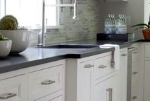 New kitchen / Look & feel & cupboards (white)