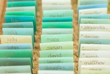 Sea Green and Celadon / Inspiration board to incorporate shades of sea greens in design and decor