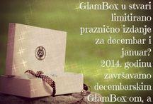 GlamBox decembar-januar 2014. / Limitirano, praznično izdanje GlamBoxRS beauty kutije. Sledeća  sezona počinje februarskom isporukom.