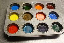 Preschool art supplies