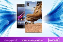 Sony Xperiza Z1 / Nech se inspirovat originálními kryty na Sony Xperia Z1! Začni tvořit na www.mycase.cz