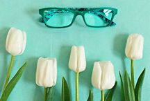Now in Vogue | Flora / From the awakening nature and latest catwalks, new inspirations for a collection rich of intense and radiant colors. Optical and sun color styles, enriched with floral textures, for an authentic spring party! / by Vogue Eyewear