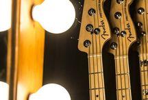 Bas Gitarlar / Bir bas gitar fetişistinin görsel tatmin aracı.