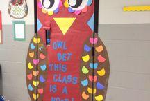 fall classroom decorations